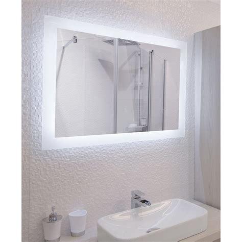 miroir de salle de bains avec 233 clairage led mod 232 le cajam 60 80 cm x 60 cm hxl salle de