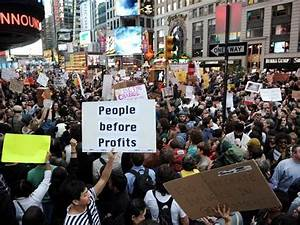 Occupy Protesters Attempt To Shut Down Wall Street On ...