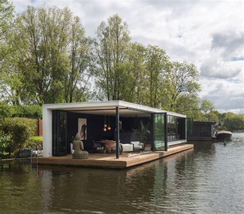 Woonboot Vecht by Woonboot Vecht Modern Container Home Pinterest