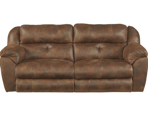 catnapper ferrington power headrest power lay flat reclining sofa sunset cn 61891 sunset at