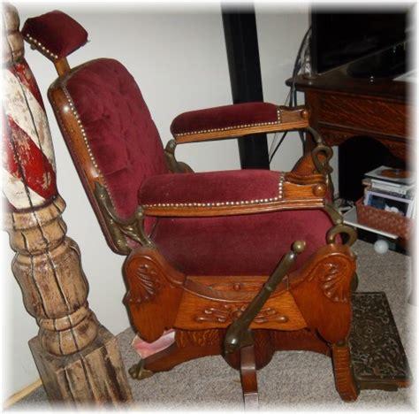 Koken Barber Chair History by 1895 Koken
