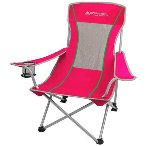 ozark trail sling mesh chair walmart