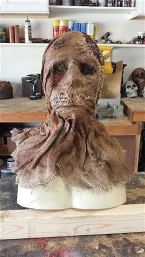Scarecrows, Burlap And Masks On Pinterest