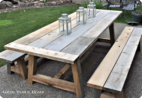 Reclaimed Wood Outdoor Dining Table And Benches Snowy Nights In My Big Backyard Play Your Own Fort Worth Concrete Patio Spa How To Baseball On Mac Dog Pool Soccer Nets