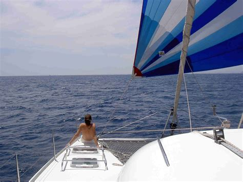 Catamaran Sailing Tuition by Catamaran At Sea Catamaran Training Multihull Tuition