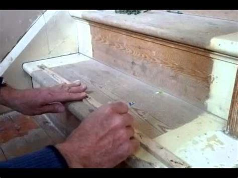 easy way to stop some squeaky timber stairs this tutorial