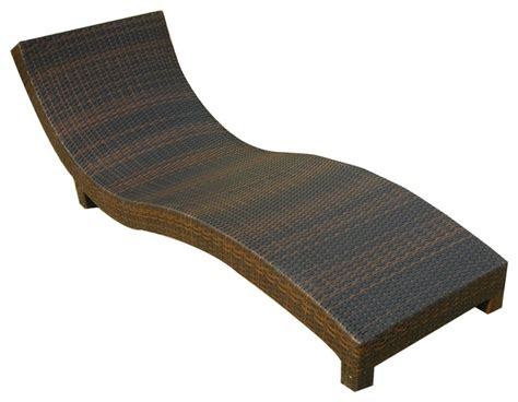 cabo outdoor wicker chaise lounge chair tropical outdoor chaise lounges by great deal