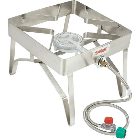 bayou classic stainless steel outdoor patio propane stove