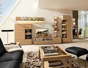 Wohnzimmer Eiche Massiv : musterring portland wohnwand aus massiver eiche jetzt entdecken ~ Markanthonyermac.com Haus und Dekorationen