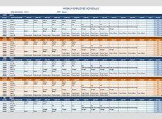 Weekly Schedule Template Excel calendar template excel