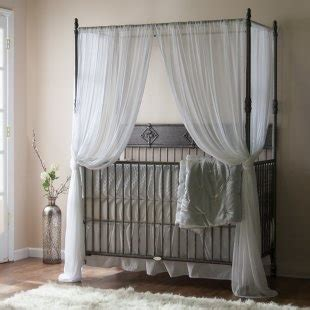 25 best canopy crib ideas on
