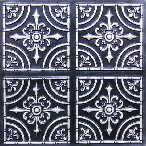 tin ceiling tiles 2x2 flat 205 antique silver cheapest decorative plastic ul can be glued