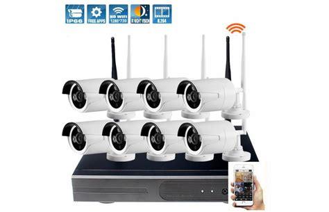 kit de surveillance ext 233 rieur avec 8 233 ras wifi et l enregistreur hd