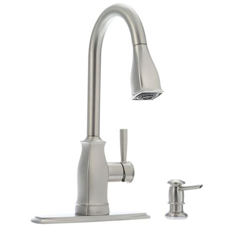 moen chateau single handle standard kitchen faucet with