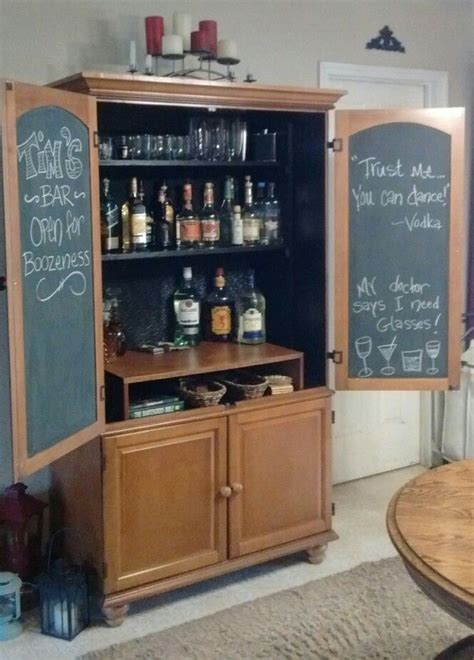 best 25 armoire bar ideas on armoire redo