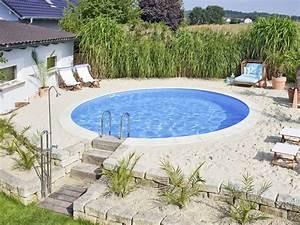 Pool Selber Bauen Günstig : ist schnell selbst gebaut foto d w pool djd foto d w pool djd ich liebe wasser ~ Markanthonyermac.com Haus und Dekorationen