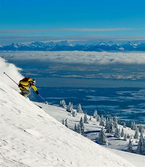 hiver station monts jura monts jura station de ski