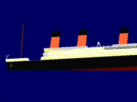 titanic animation 2 0