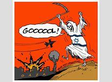 Opera Mundi Charge do Latuff Em Gaza, palestinos não