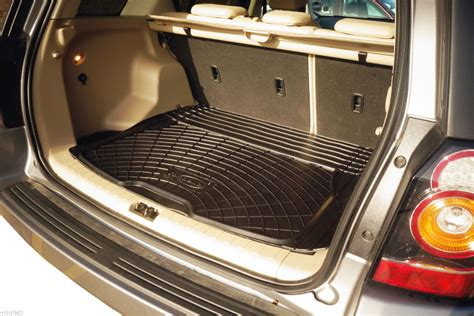 Rubber Boot Liner For Freelander 2 3pc boot liner load mat bumper protector land rover