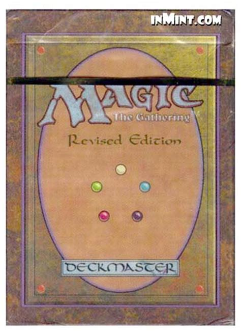 inmint magic third 3rd revised edition starter deck 60 cards magic the gathering