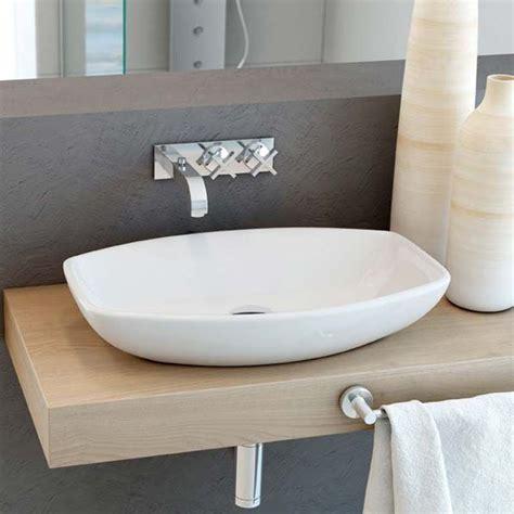 vasque 224 poser ovale 60x38 cm c 233 ramique oviedo