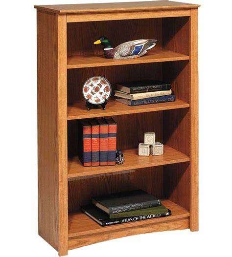 Wooden Bookcase  48 Inch In Bookcases