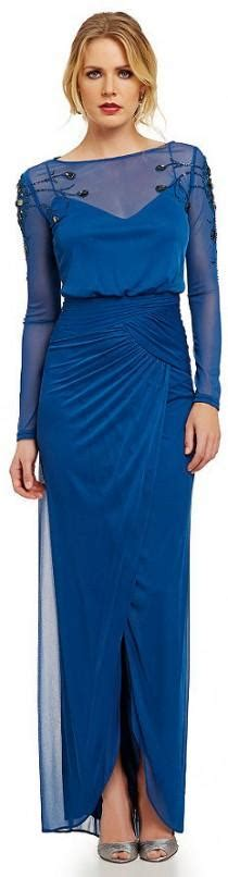 Adrianna Papell Beaded Boat Neck Cap Sleeve Gown by Wedding Ideas Gown 82 Weddbook