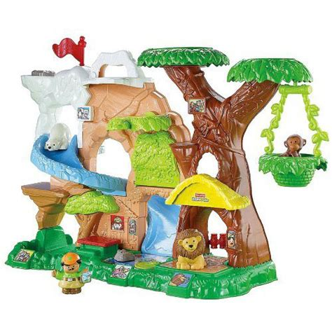 fisher price zoo talkers animal sounds zoo introduces animals to your toddler