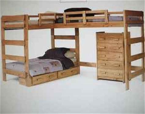 pdf diy free l shaped bunk bed plans free loft