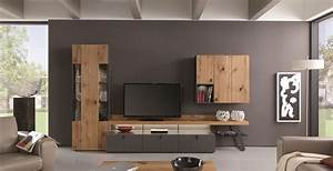 Wohnzimmer Gestalten Grau : welche farbe passt zu einer schwarz wei en wohnwand ~ Markanthonyermac.com Haus und Dekorationen