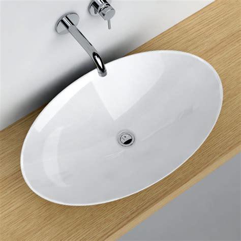 vasque 224 poser ovale 68x43 cm c 233 ramique