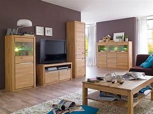 Wohnzimmer Eiche Massiv : wohnzimmer eiche massiv bianco 5 teilig wohnwand highboard couchtisch pisa 51 ebay ~ Markanthonyermac.com Haus und Dekorationen