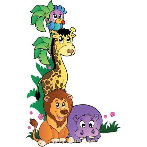 sticker animaux de la jungle 1 stickersmania
