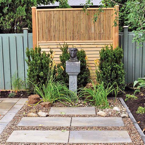 mur d intimit 233 en pin trait 233 et bambou 201 crans et treillis inspirations jardinage et
