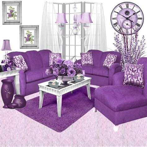 25 best ideas about purple living rooms on