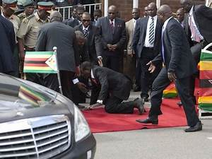 Robert Mugabe falls down stairs, demands photos be deleted ...