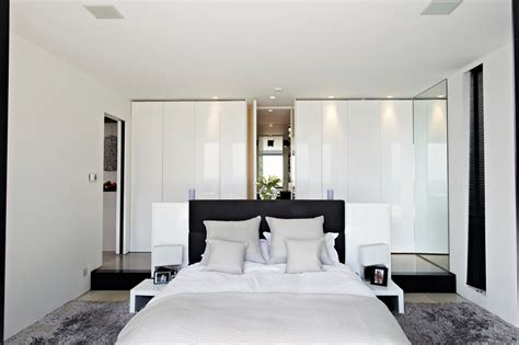 Bedroom  Stunning Simple White Bedroom Design With