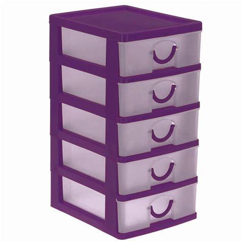 bloc coffret tour boite de rangement 5 tiroirs plastique petit mod 232 le ebay