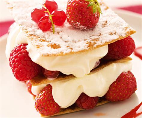 mille feuille fraises recette facile gourmand