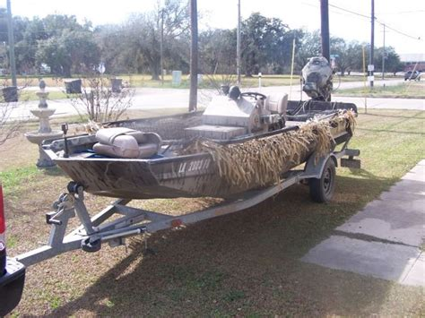 Gator Tail Boat Pics by 2006 Gator Tail Duck Boat For Sale In Houma Louisiana