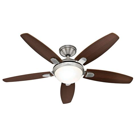 ceiling fans contempo 52 in brushed nickel indoor