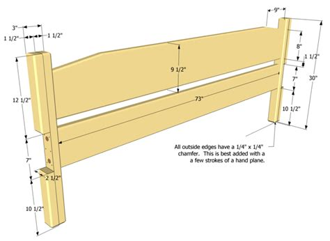pdf how to build a wooden headboard for a king size bed
