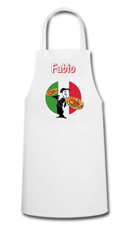 tablier de cuisine pizza pizzaiolo personnalis 233 avec pr 233 nom divers tablier de cuisine