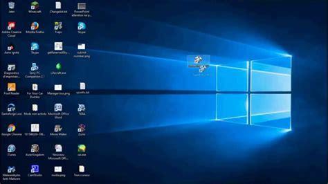 tuto comment d 233 placer les ic 244 nes du bureau sur windows