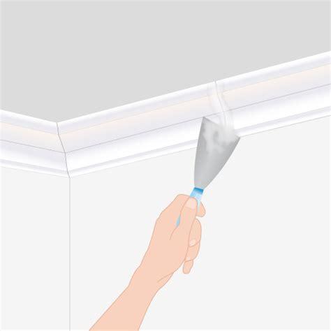 poser une corniche au plafond plafond