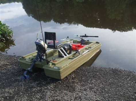 Bass Hunter Boat Modifications by My Basshunter 8ft Mini Pontoon Awesome Boat Jun 29