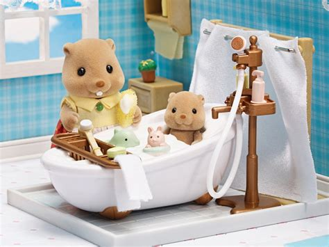 deluxe bathroom set calico critters