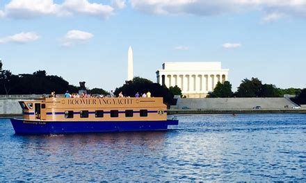 Living On A Boat Washington Dc by Boomerang Boat Tours Up To 41 Off Washington Dc