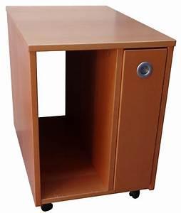 Ikea Büro Rollcontainer : ikea effektiv pc rollcontainer in buche dunkel ~ Markanthonyermac.com Haus und Dekorationen